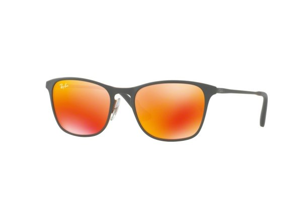 Очки Ray-Ban Kids and Junior RB9539S-258-6Q Black | Orange Mirror