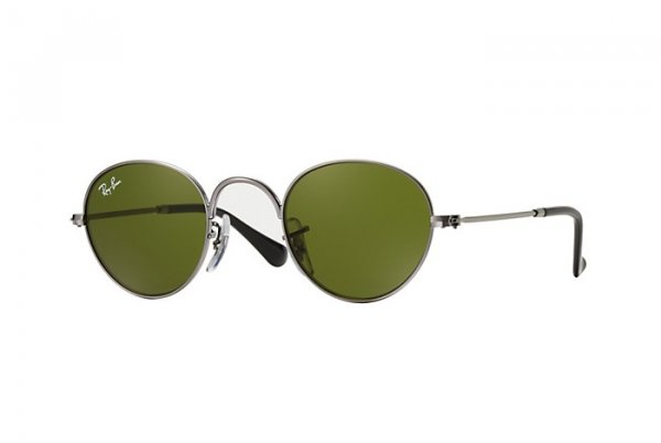 Очки Ray-Ban Kids and Junior Round RB9537S-200-2 Silver| Green