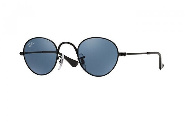 Очки Ray-Ban Kids and Junior Round RB9537S-201-80 Matt Black| Dark Blue