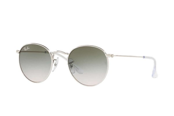 Очки Ray-Ban Kids and Junior Round RB9547S-212-2C Silver | Gradient Grey