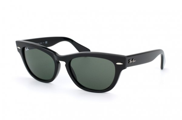 Очки Ray-Ban Laramie RB4169-601 Black/Natural Green (G-15XLT)