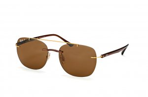 Очки Ray-Ban LightRay Active Lifestyle RB4280-6287-83 Brown / Arista | Brown Polarized