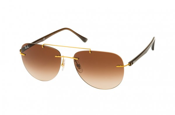 Очки Ray-Ban LightRay Active Lifestyle RB8059-157-13 Bronze / Brown | Faded Light Brown