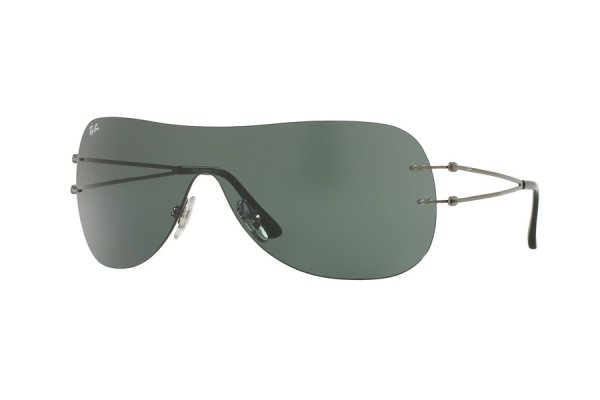 Очки Ray-Ban LightRay RB8057-004-71 Gunmetal | APX Grey/Green