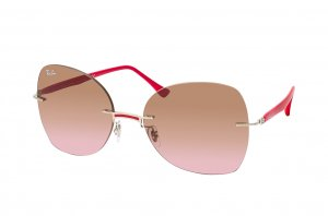 Очки Ray-Ban LightRay RB8066-003-14 Red | Violet Gradient