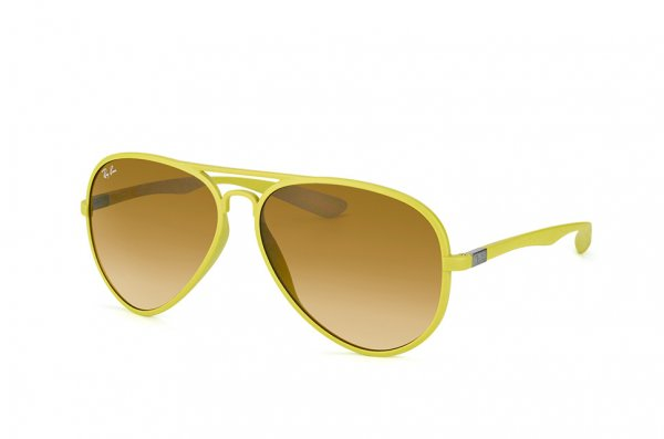 Очки Ray-Ban Liteforce Aviator RB4180-6085-2L Yellow | Brown Yellow Gradient