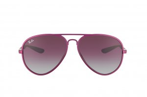 Очки Ray-Ban Liteforce Aviator RB4180-6087-4Q Lilac | Violet Faded Grey