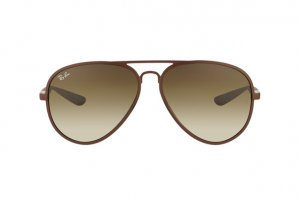 Очки Ray-Ban Liteforce Aviator RB4180-881-13 Brown | Gradient Brown