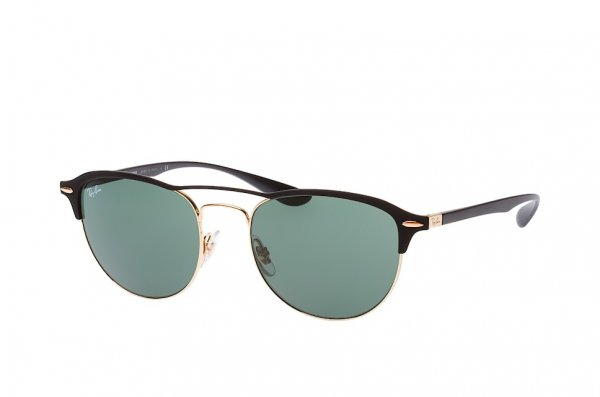 Очки Ray-Ban Liteforce RB3596-9076-71 Arista / Black | Natural Green