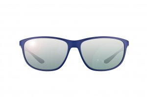 Очки Ray-Ban Liteforce RB4213-6161-88 Matt Dark Blue | Gradient Mirror