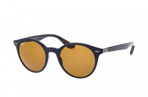 Очки Ray-Ban Liteforce Round RB4296-6331-83 Blue | Brown Polarized