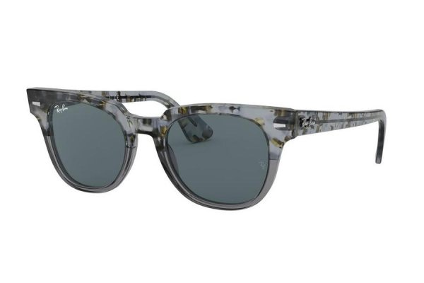 Очки Ray-Ban Meteor Classic RB2168-1286-R5 Spotted Grey / Blue | Deep Blue
