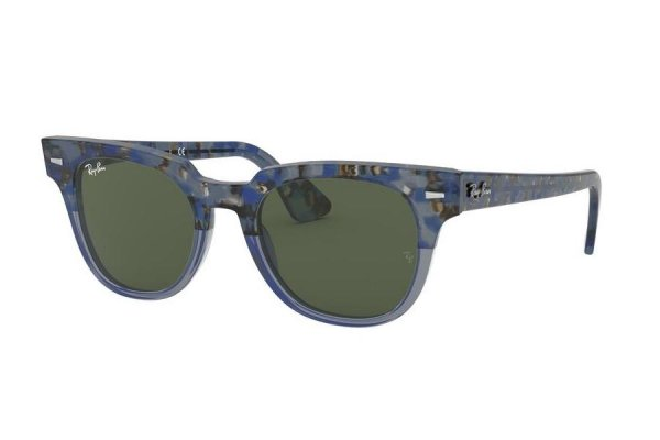 Очки Ray-Ban Meteor Classic RB2168-1288-31 Spotted Blue | Natural Green