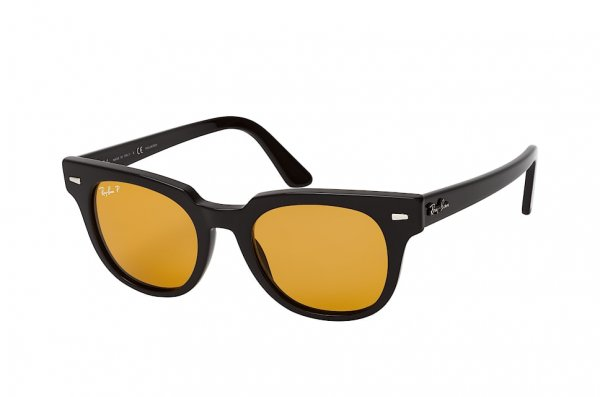 Очки Ray-Ban Meteor Classic RB2168-901-N9 Black | Polarized Yellow