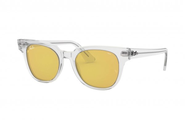 Очки Ray-Ban Meteor Evolve RB2168-912-4A Transparent White | Yellow Photocromic