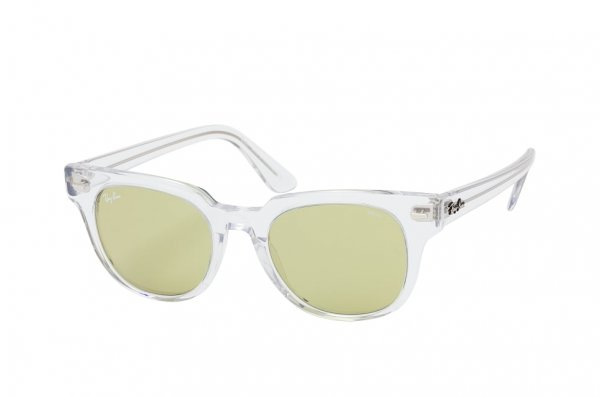 Очки Ray-Ban Meteor Evolve RB2168-912-4C Transparent White | Light Green Photocromic