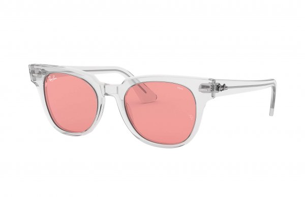 Очки Ray-Ban Meteor Evolve RB2168-912-V7 Transparent White | Pink Photocromic