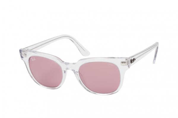 Очки Ray-Ban Meteor Evolve RB2168-912-Z0 Transparent White | Purple Photocromic
