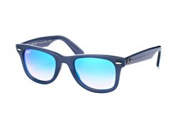 Очки Ray-Ban Modified Wayfarer RB4340-6232-4O Blue | Blue Gradient Mirror