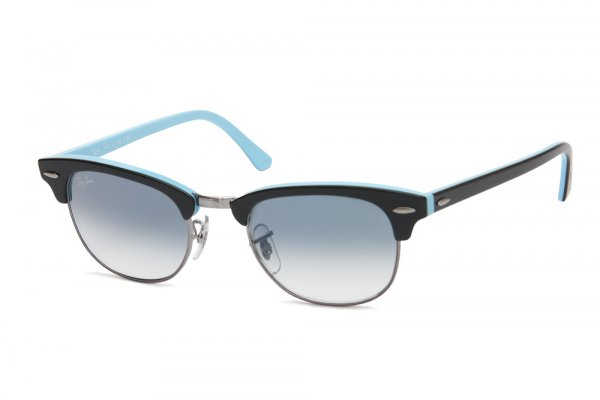 Очки Ray-Ban New Clubmaster RB2156-1011-3F Black/Blue Gradient Light Blue