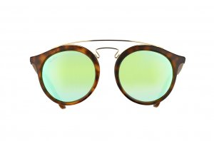 Очки Ray-Ban New Gatsby I RB4256-6092-3R Havana / Green Mirror