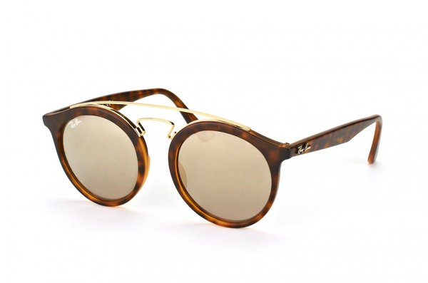 Очки Ray-Ban New Gatsby I RB4256-6092-5A Havana / Gold Mirror