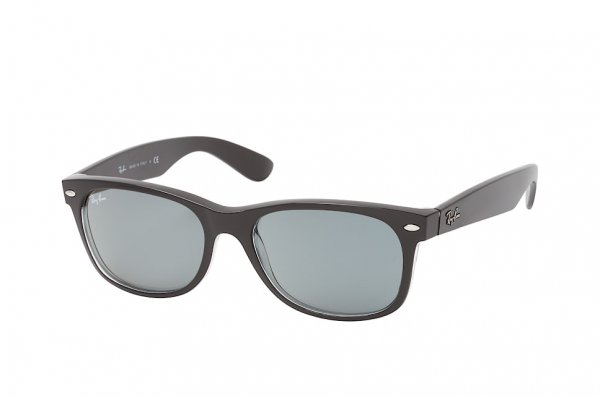 Очки Ray-Ban New Wayfarer Classic RB2132-6398-Y5 Black | Blue Photocromic