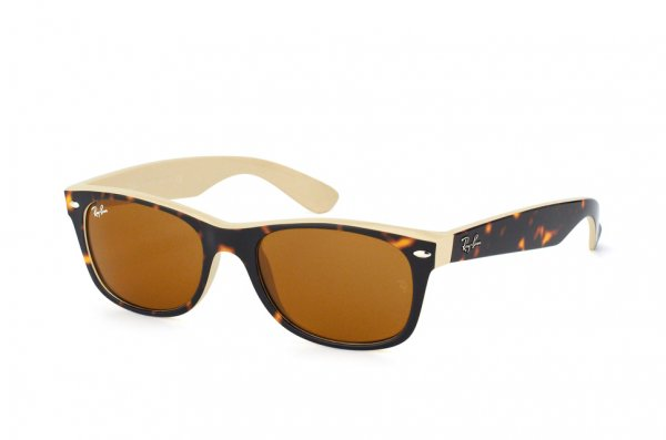 Очки Ray-Ban New Wayfarer Color Mix RB2132-6012 Havana/Beige | Natural Brown (B-15XLT)