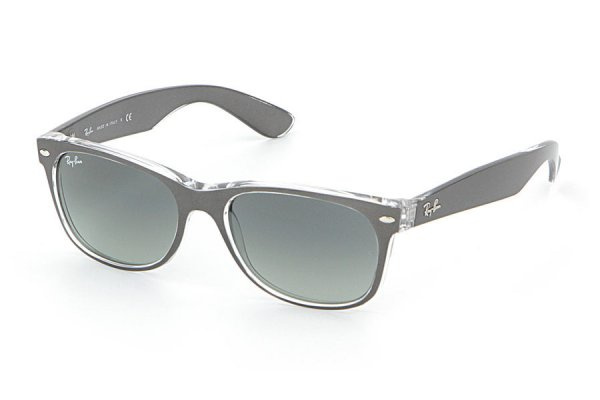 Очки Ray-Ban New Wayfarer Color Mix RB2132-6143-71 Matt GreyOn Crystal | Grey Gradient