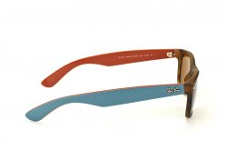 Очки Ray-Ban New Wayfarer Color Mix RB2132-6179 Havana/Blue/Orange | Natural Brown (B-15XLT)