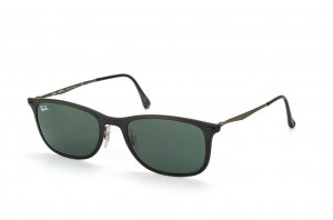 Очки Ray-Ban New Wayfarer LightRay RB4225-601S-71 Matt Black| APX Grey/Green