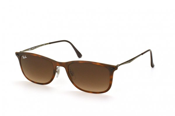 Очки Ray-Ban New Wayfarer LightRay RB4225-894-13 Havana | Brown Gradient