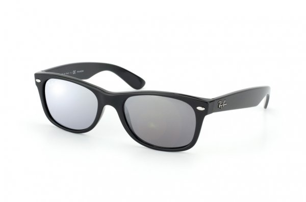Очки Ray-Ban New Wayfarer RB2132-601-K3 Black/Polar Grey GSM