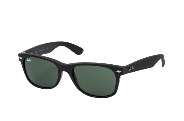 Очки Ray-Ban New Wayfarer RB2132-6462-31 Black Rubber | Natural Green