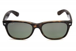 Очки Ray-Ban New Wayfarer RB2132-710-M4 Shiny Avana | Polarized Green GSM