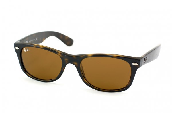 Очки Ray-Ban New Wayfarer RB2132-710 Shiny Avana/Natural Brown (B-15XLT)