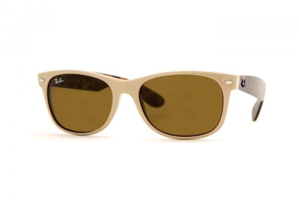 Очки Ray-Ban New Wayfarer RB2132-721 Beige/Havana | Brown (B-15)