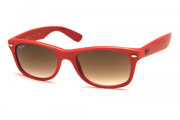 Очки Ray-Ban New Wayfarer RB2132-757-51 Orange/Faded Brown