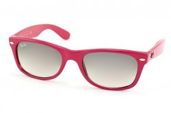 Очки Ray-Ban New Wayfarer RB2132-758-32 Fuchsia/Gradient Grey