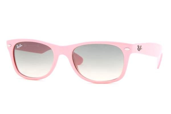 Очки Ray-Ban New Wayfarer RB2132-759-32 Pink | Gradient Grey