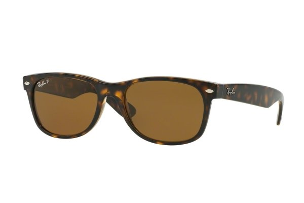 Очки Ray-Ban New Wayfarer RB2132-902-57 Havana | Natural Brown Polarized