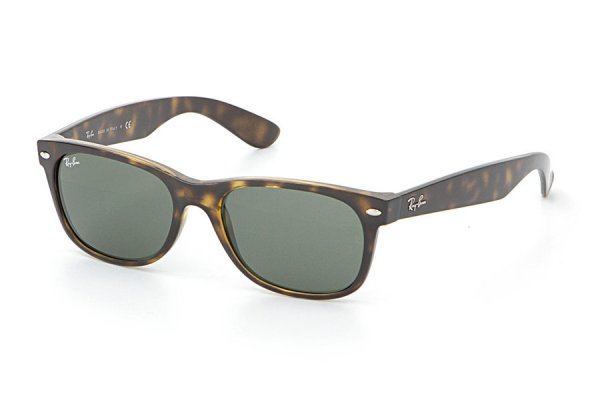 Очки Ray-Ban New Wayfarer RB2132-902 Tortoise/Natural Green (G-15XLT)
