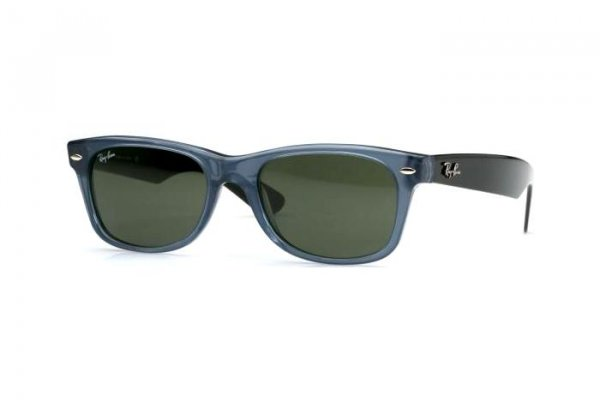 Очки Ray-Ban New Wayfarer RB2132-942 Blue /Dark Grey | natural Green(G-15)