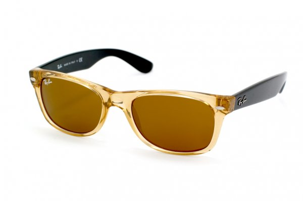Очки Ray-Ban New Wayfarer RB2132-945 Honey | Natural Brown (B-15XLT)
