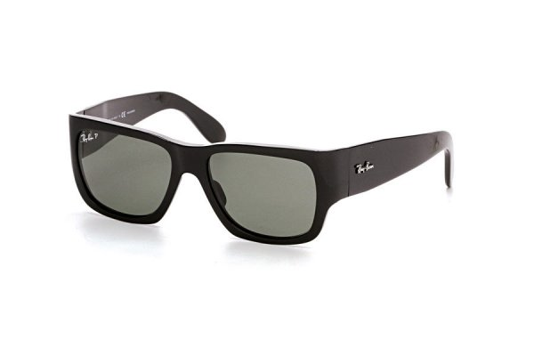 Очки Ray-Ban Nomad RB2187-901-58 Black | Natural Green Polarized