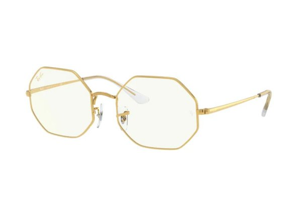 Очки Ray-Ban Octagon RB1972-9196-BF Arista | Clear
