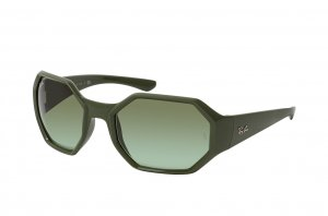 Очки Ray-Ban Octagon RB4337-6489-8E Bottle Green | Light Bottle Green