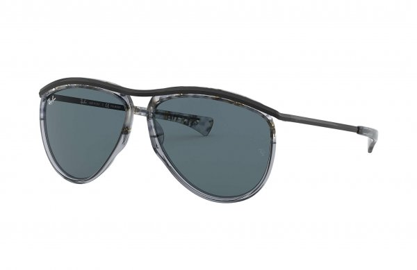 Очки Ray-Ban Olympian Aviator RB2219-1286-R5 Dark Grey | Dark Blue