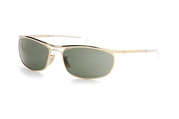 Очки Ray-Ban Olympian I Deluxe RB3119M-001-31 Arista | Natural Green
