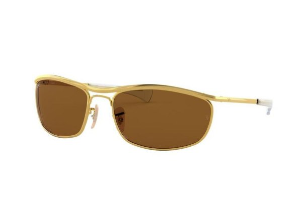 Очки Ray-Ban Olympian I Deluxe RB3119M-001-57 Arista | Natural Brown Polarized